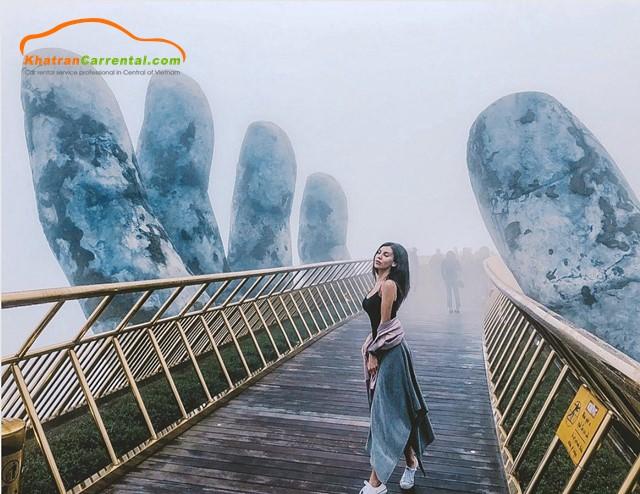 golden bridge - da nang vietnam