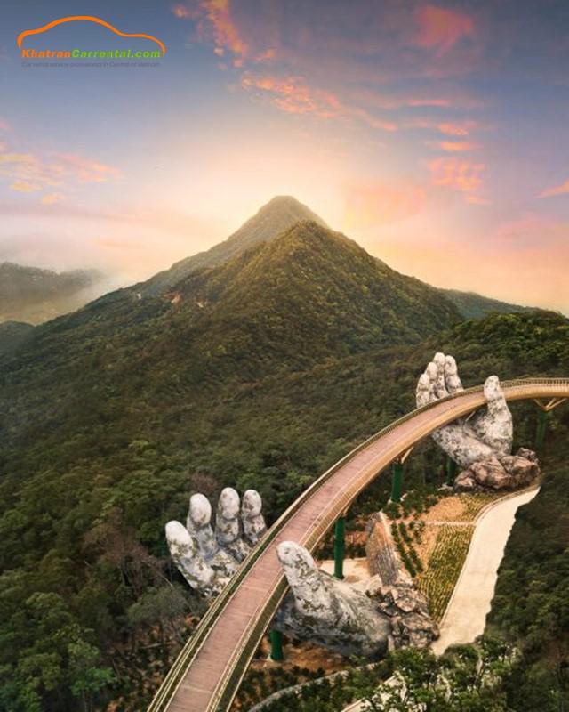 golden bridge da nang vietnam