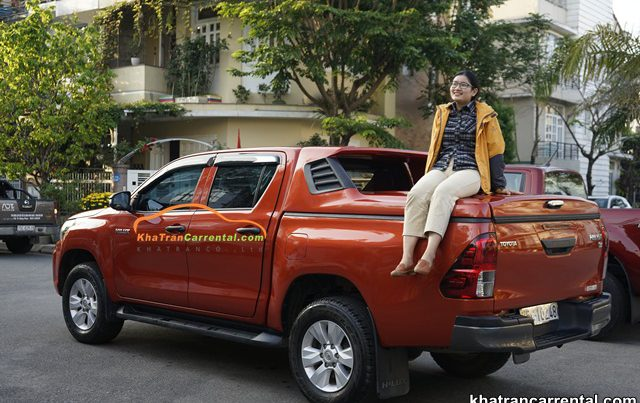 pickup for rent in danang
