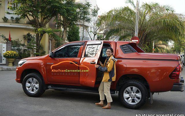 pleiku pickup truck rental