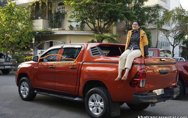 quang nam pickup truck rental