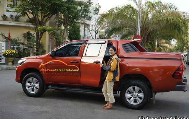 quang ngai pickup truck rental