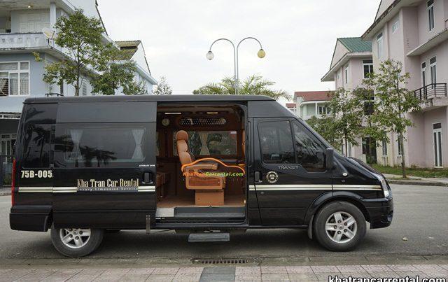 employee shuttle bus in quang nam