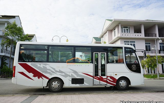 employee shuttle bus rental in binh thuan