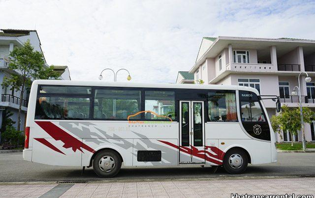 employee shuttle bus rental in daklak